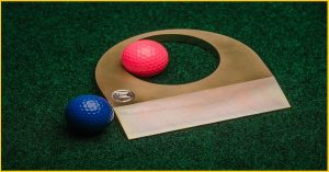 Small Business Innovation: Golf Portable Practice Hole from Pure Stroke Golf